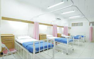 Quels sont les types d'hospitalisation mis en place ?
